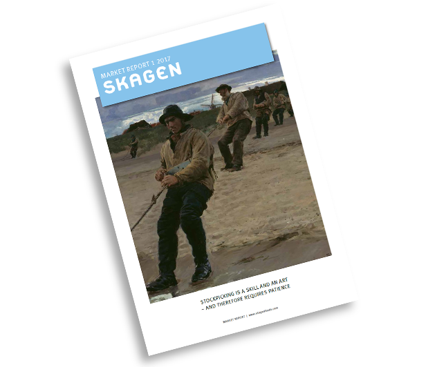Image of front page of fourth quarter Market Report 2016 showing fisherman.