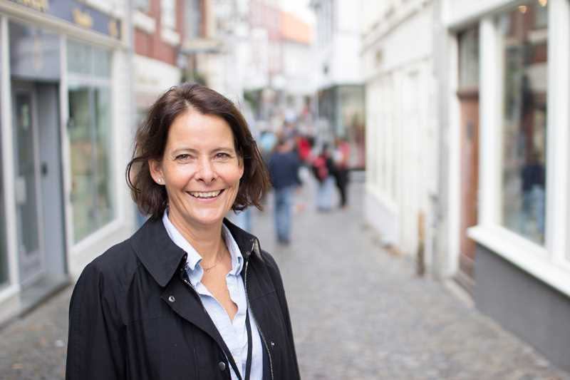 Portrait of SKAGEN's new investment director Alexandra Morris